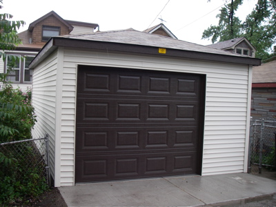 Beautiful A New Garage